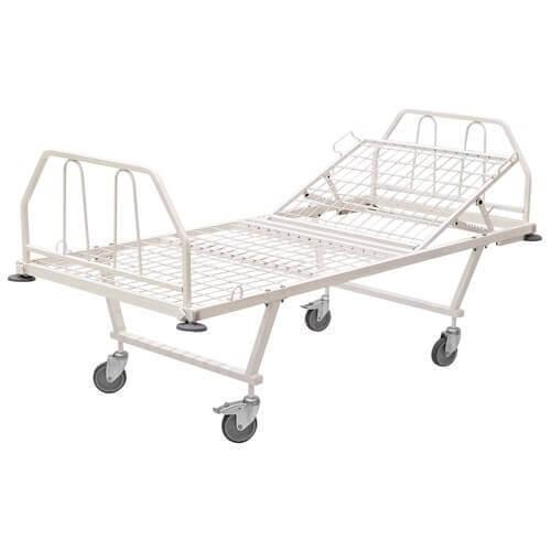 Медицинская металлическая кровать